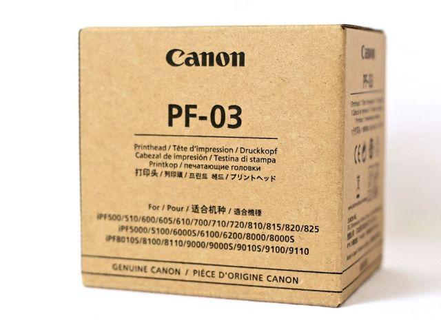 Originální tisková hlava Canon PF-03 (Černá)