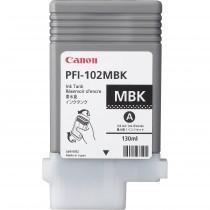 Originální cartridge Canon PFI-102MBK (Matně černá)