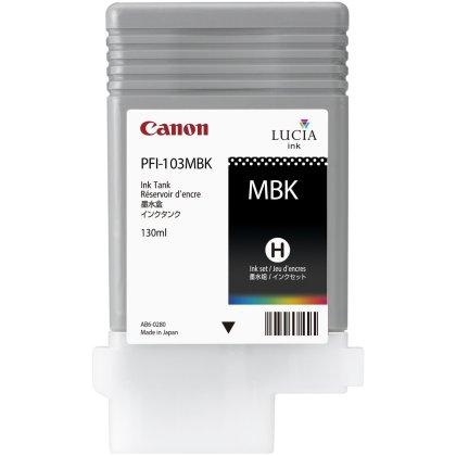 Originální cartridge Canon PFI-103 MBk (Matně černá)