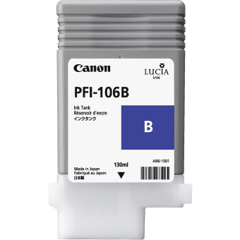 Originální cartridge Canon PFI-106B (Modrá)