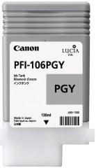 Cartridge do tiskárny Originální cartridge Canon PFI-106PGY (Foto šedá)