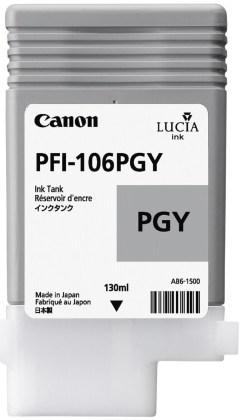 Originální cartridge Canon PFI-106PGY (Foto šedá)