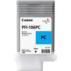 Cartridge do tiskárny Originální cartridge Canon PFI-106PC (Foto azurová)
