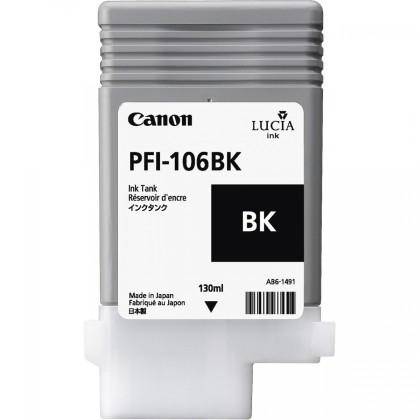 Originální cartridge Canon PFI-106BK (Černá)