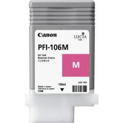 Cartridge do tiskárny Originální cartridge Canon PFI-106M (Purpurová)
