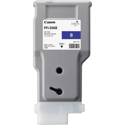 Originální cartridge Canon PFI-206B (Modrá)