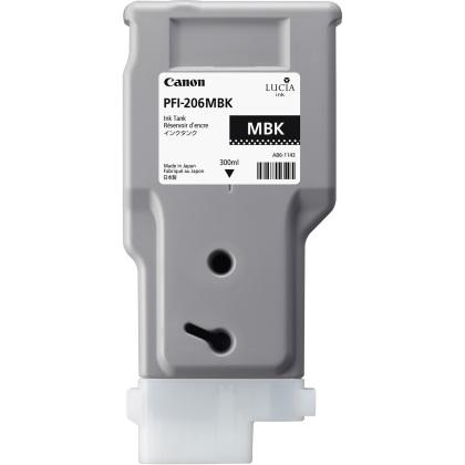 Originální cartridge Canon PFI-206MBK (Matně černá)