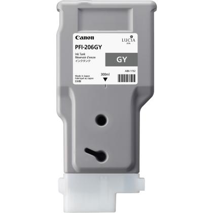 Originální cartridge Canon PFI-206GY (Šedá)