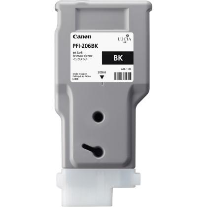 Originální cartridge Canon PFI-206BK (Černá)