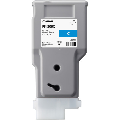 Originální cartridge Canon PFI-206C (Azurová)
