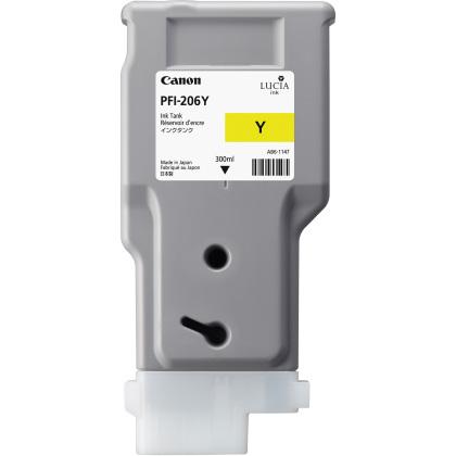 Originální cartridge Canon PFI-206Y (Žlutá)