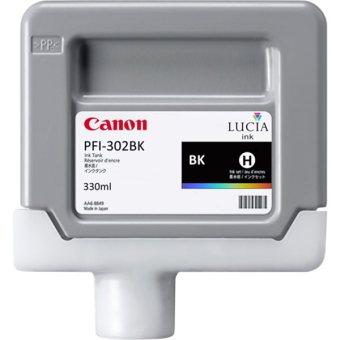 Originální cartridge Canon PFI-302Bk (Černá)