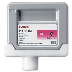 Cartridge do tiskárny Originální cartridge Canon PFI-303M (Purpurová)