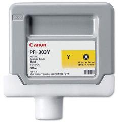 Cartridge do tiskárny Originální cartridge Canon PFI-303Y (Žlutá)