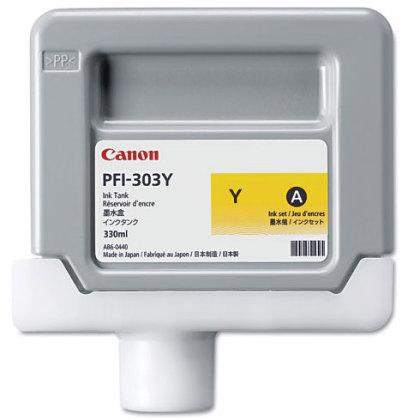 Originální cartridge Canon PFI-303Y (Žlutá)