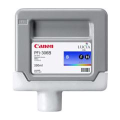 Cartridge do tiskárny Originální cartridge Canon PFI-306B (Modrá)