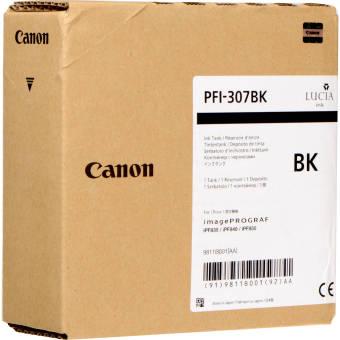 Originální cartridge Canon PFI-307BK (Černá)