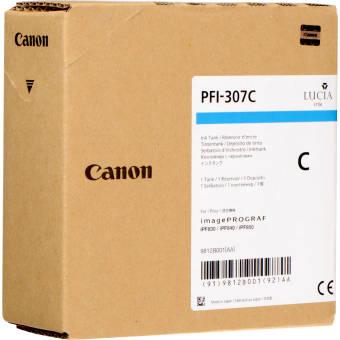 Originální cartridge Canon PFI-307C (Azurová)