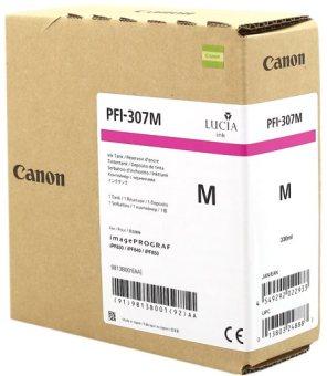 Originální cartridge Canon PFI-307M (Purpurová)