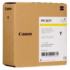 Cartridge do tiskárny Originální cartridge Canon PFI-307Y (Žlutá)