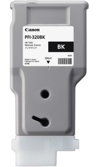 Originální cartridge Canon PFI-320Bk (Černá)