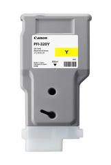Cartridge do tiskárny Originální cartridge Canon PFI-320Y (Žlutá)