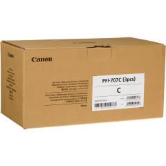 Sada originálních cartridge Canon PFI-707C (Azurová)