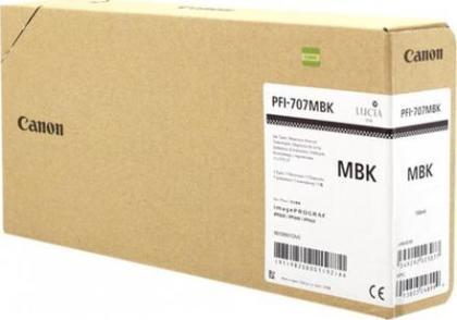 Originální cartridge Canon PFI-707MBK (Matně černá)