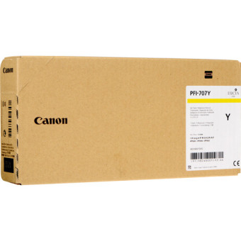 Originální cartridge Canon PFI-707Y (Žlutá)