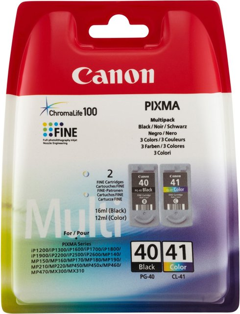Sada originálních cartridge Canon PG-40/CL-41 (Černá a barevná)