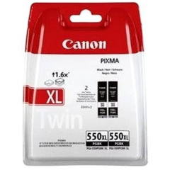 Sada originálních cartridge Canon PGI-550BK XL (Černá)