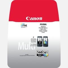 Cartridge do tiskárny Originální sada cartridge Canon PG-560/CL-561 (Černá, barevná)