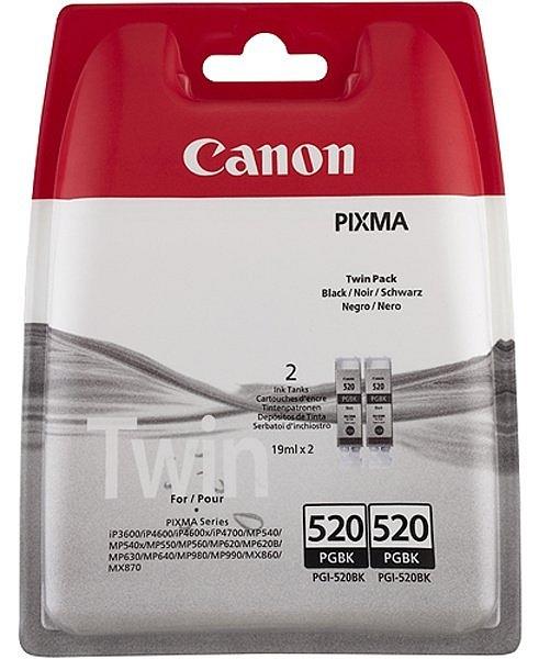 Sada originálních cartridge Canon PGI-520BK (Černá)