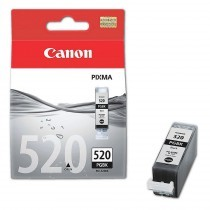 Originální cartridge Canon PGI-520BK (Černá)