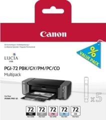 Sada originálních cartridge Canon PGI-72 PBK/GY/PM/PC/CO