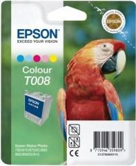 Cartridge do tiskárny Originální cartridge EPSON T008 (Barevná)