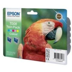 Sada originálních cartridge EPSON T008 (Barevná)
