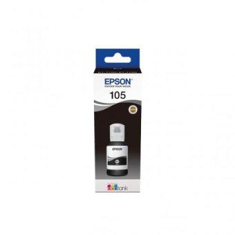 Originální lahev EPSON 105 BK (C13T00Q140) (Černá)