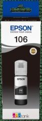 Cartridge do tiskárny Originální lahev Epson 106 BK (C13T00R140) (Foto černá)
