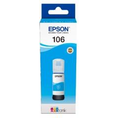 Cartridge do tiskárny Originální lahev Epson 106 C (C13T00R240) (Azurová)