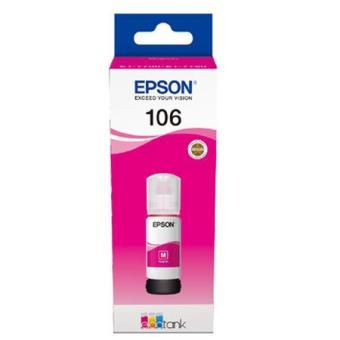Originální lahev Epson 106 M (C13T00R340) (Purpurová)