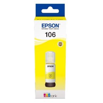 Originální lahev Epson 106 Y (C13T00R440) (Žlutá)