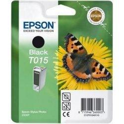 Originální cartridge EPSON T015 (Černá)