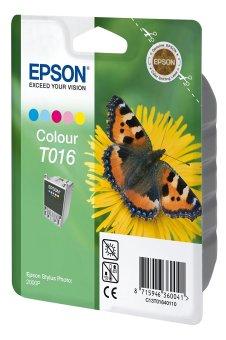 Originální cartridge EPSON T016 (Barevná)