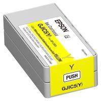 Originální cartridge EPSON GJIC5(Y) (C13S020566) (Žlutá)