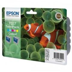 Sada originálních cartridge EPSON T027 (Barevná)