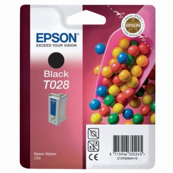 Originální cartridge EPSON T028 (Černá)