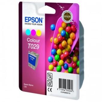 Originální cartridge EPSON T029 (Barevná)