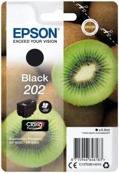 Originální cartridge EPSON č. 202 (T02E1) (Černá)