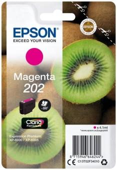 Originální cartridge EPSON č. 202 (T02F3) (Purpurová)